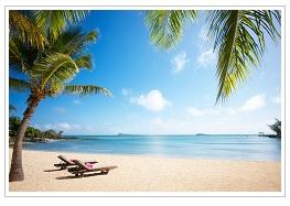 Luxury Mauritius view