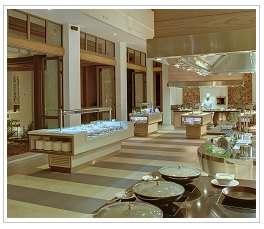 Buffet at Long Beach Hotel Mauritius