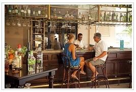 Bar at Sugar Beach Hotel Mauritius