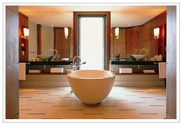 Bathroom at Le Touessrok Resort Mauritius