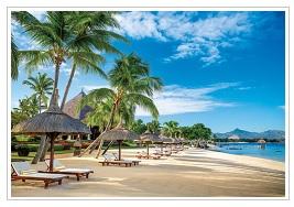 Beach at The Oberoi Mauritius