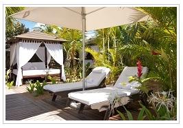 Garden at Tamassa Mauritius