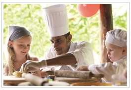 Kids club at Le Touessrok Resort Mauritius