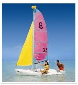Sailing at Sugar Beach Hotel Mauritius