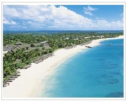 Constance Belle Mare Plage Mauritius aeriel view