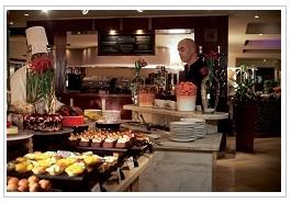 buffet at Le Touessrok Resort Mauritius