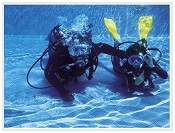 diving at Belle Mare Plage Hotel Mauritius