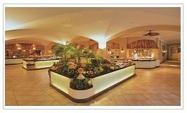 restaurant at Sugar Beach Hotel Mauritius
