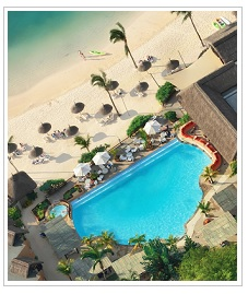 Aerial-view of Veranda Pointe aux Biches Hotel Mauritius