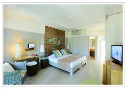 Comfort room at Veranda Palmar Beach Hotel Mauritius