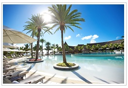 Pool at LUX Belle Mare Mauritius