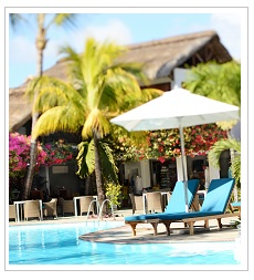 Pool at Veranda Palmar Beach Hotel Mauritius