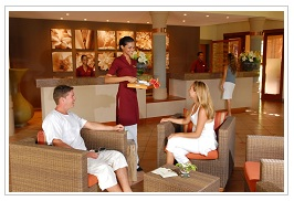 Reception at Preskil Beach Hotel Mauritius