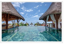 Sandy Lane pool at Veranda Pointe aux Biches Hotel Mauritius