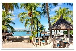 Beach Restaurant at Veranda Grand Baie Mauritius
