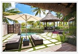 Villa at LUX Belle Mare Mauritius