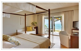 deluxe room at Solana Beach Hotel Mauritius