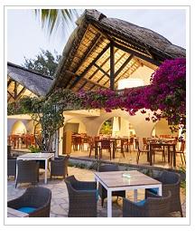 restaurant view at Veranda Palmar Beach Hotel Mauritius