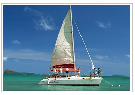 Catamaran at Zilwa Attitude Hotel Mauritius