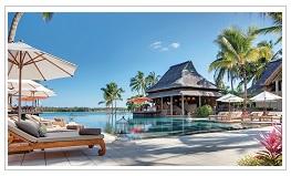 Main Pool at Le Prince Maurice Hotel Mauritius