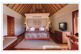 Junior suite at Le Prince Maurice Hotel Mauritius