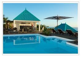 pool at Blue Margouillt Hotel