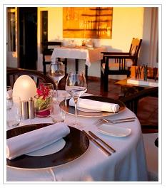 restaurant at Blue margouillat Hotel