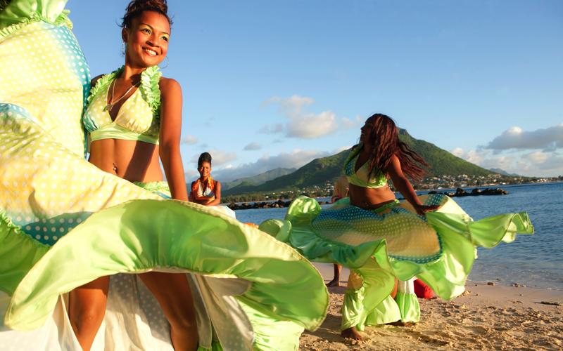 sega dance - Island Life in Mauritius