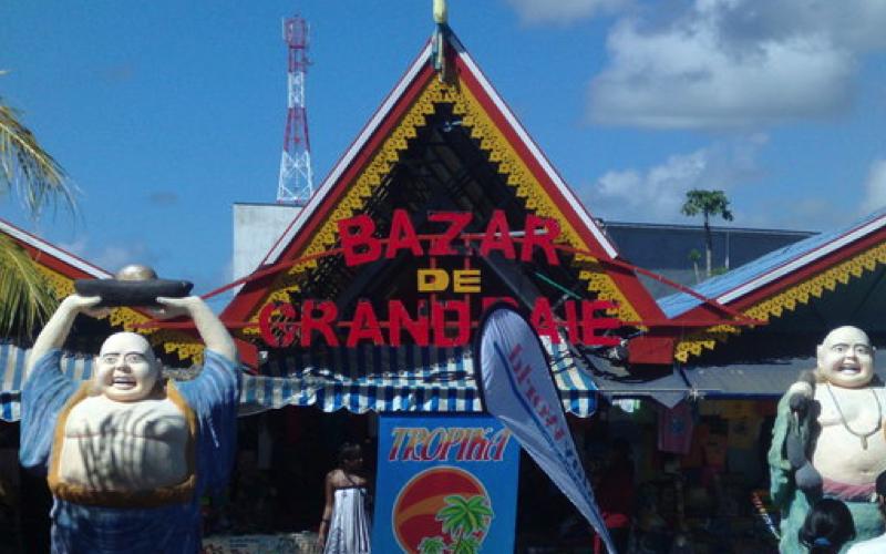 Bazaar at Grand Baie Mauritius