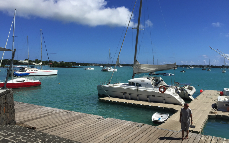 Harbour at Grand Baie Mauritius