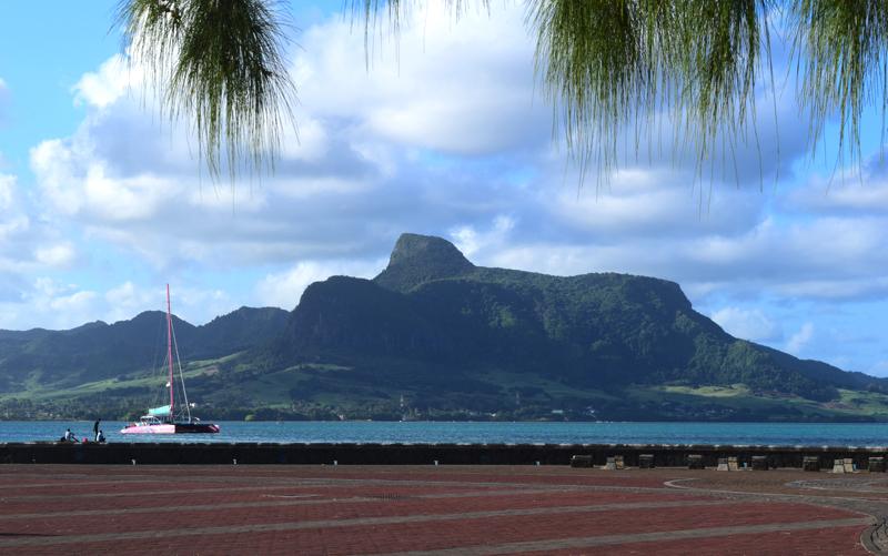 Mahebourg Mauritius - Lion Mountain