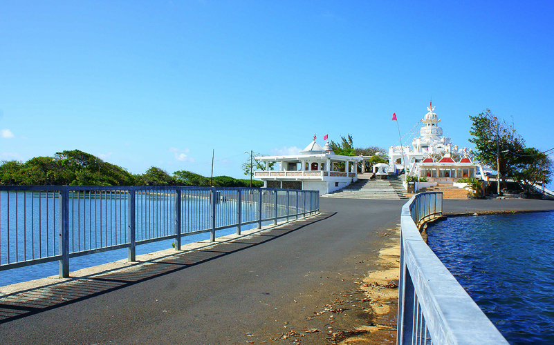 bridge leading to Sagar Shiv Mandir Temple
