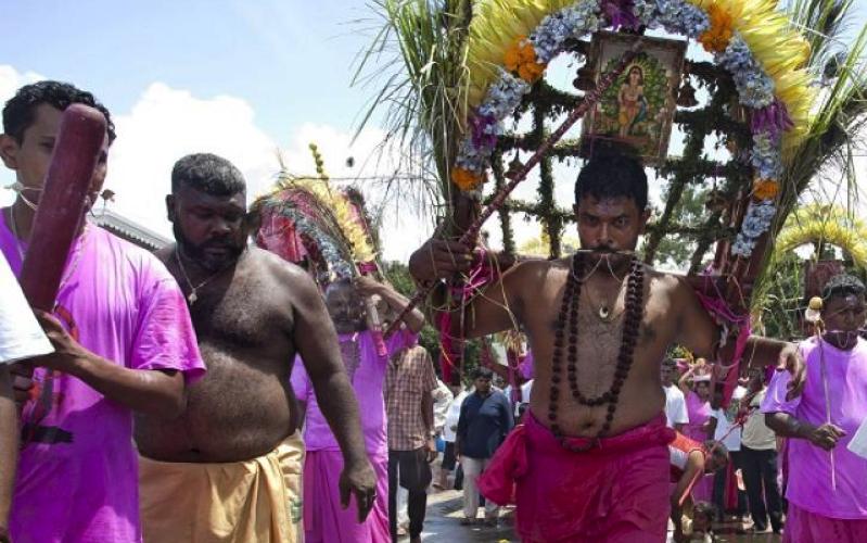 Cavadee in Mauritius
