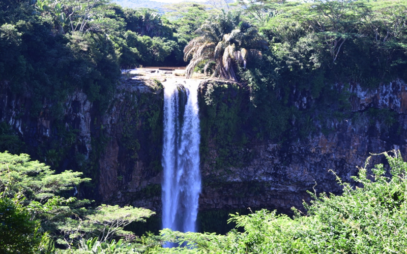 top of Alexandra Falls Mauritius