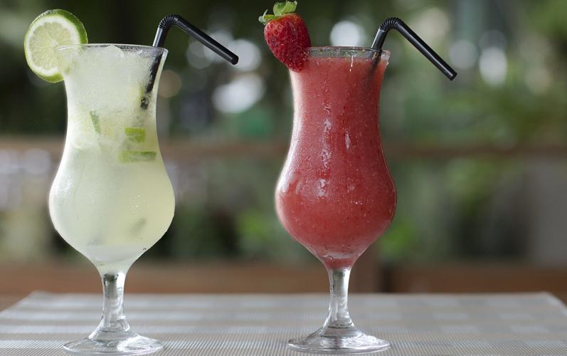 Rim based Sundowner cocktail