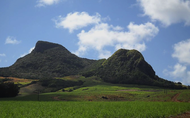 Hiking in Mauritius at Lion Mountain