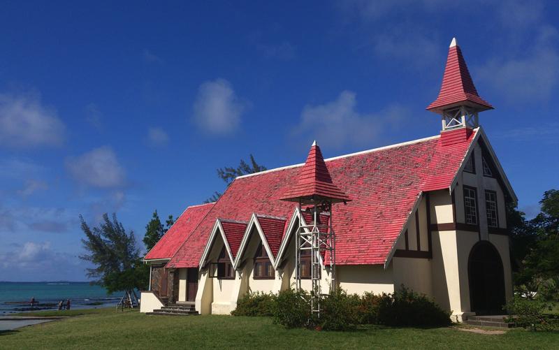 Red Roof Church, Cap Malheureux