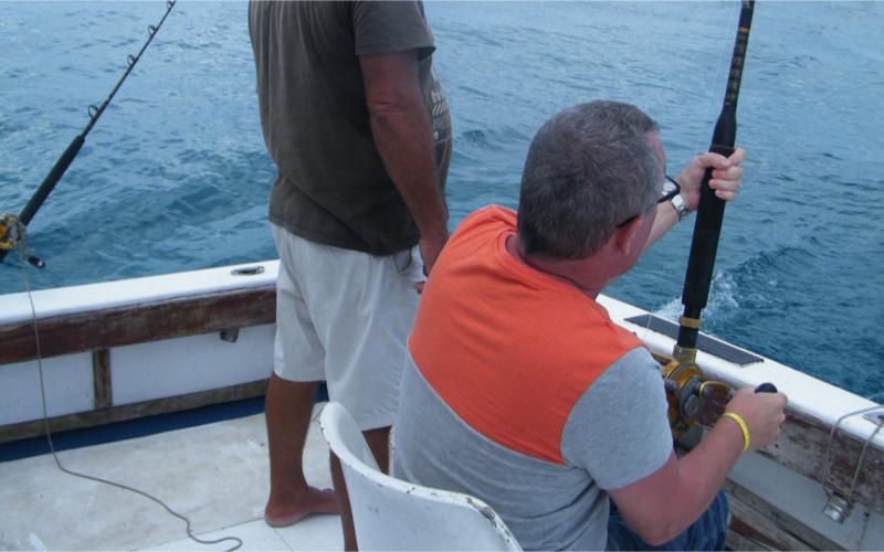 Deep sea Fishing in Mauritius