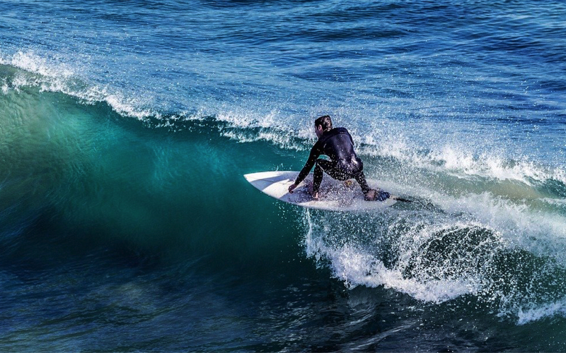 Catching a wave in Mauritius