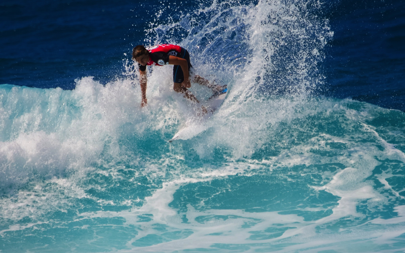 Surfing in Mauritius